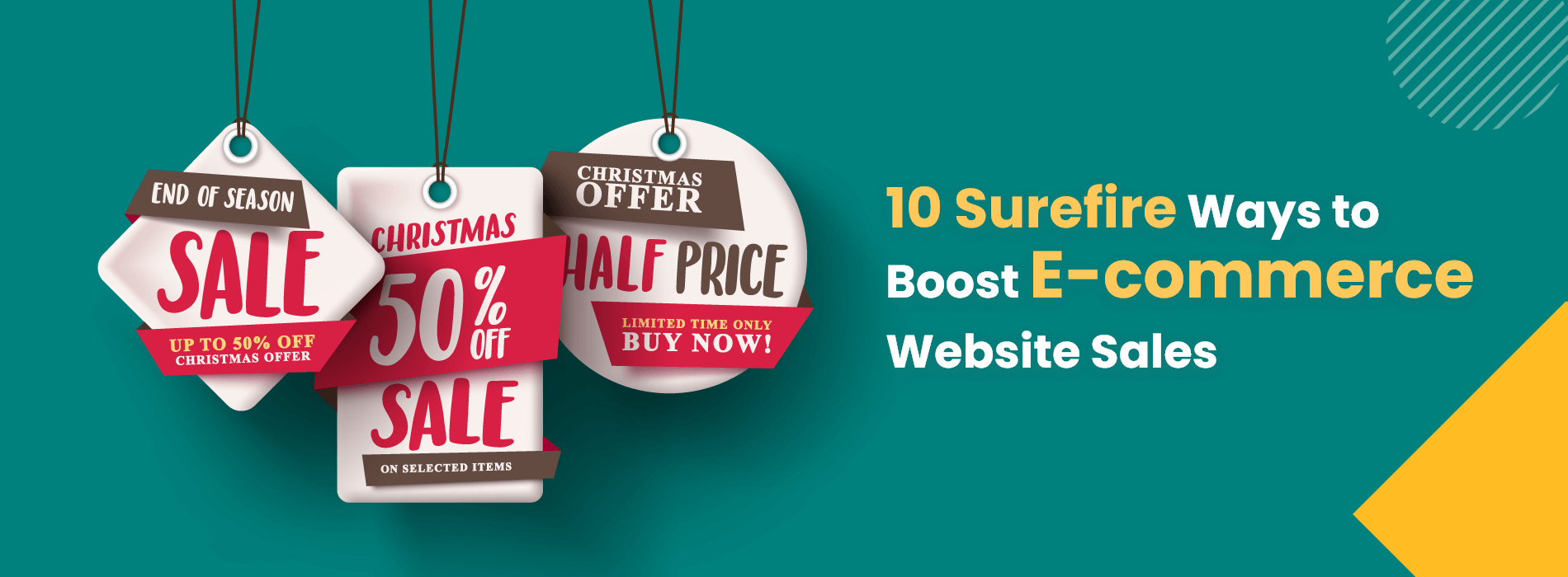10 Surefire Ways to Boost E-commerce Website Sales