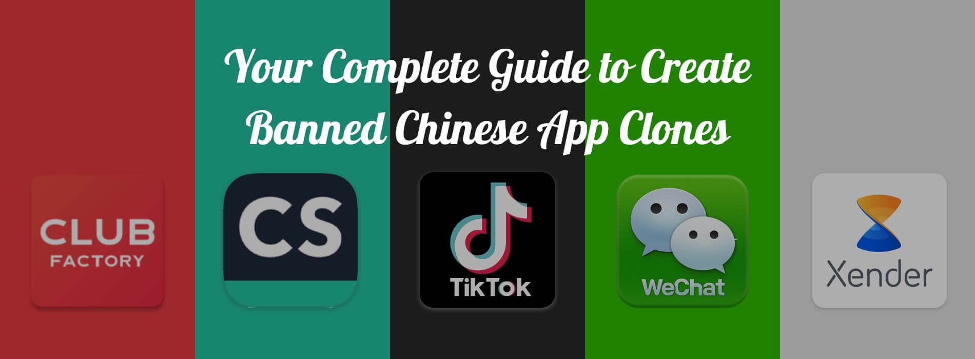 How to Develop Best Alternatives of Banned Chinese Apps?
