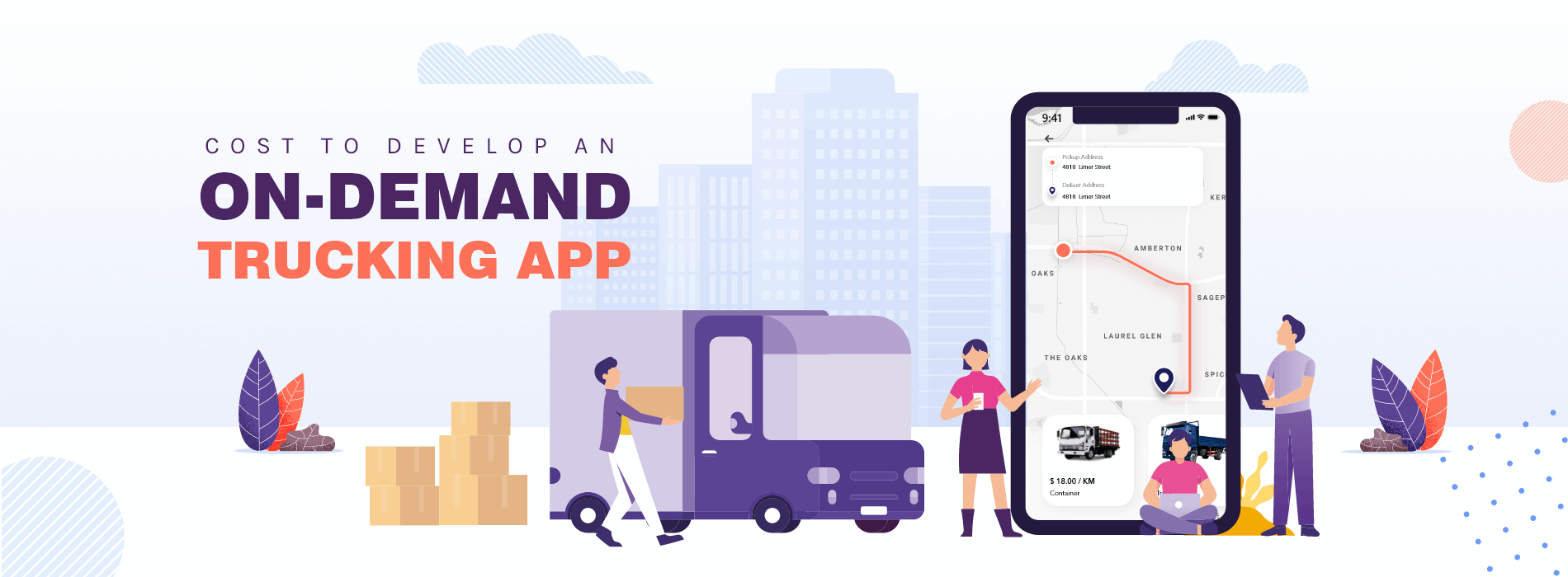 Cost to Develop an On-Demand Trucking App