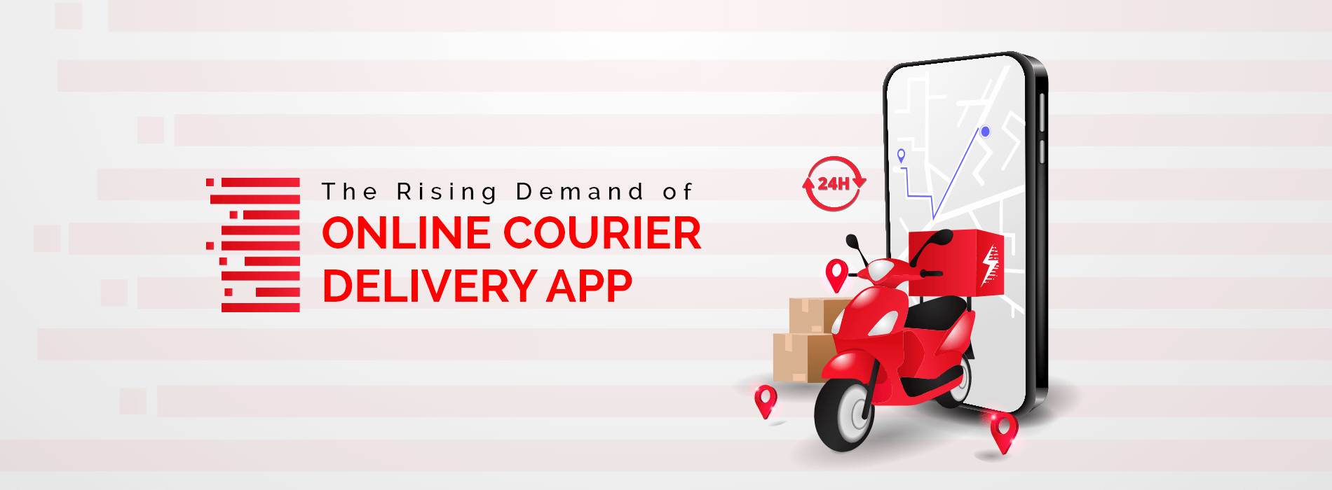 The Rising Demand of Online Courier Delivery App
