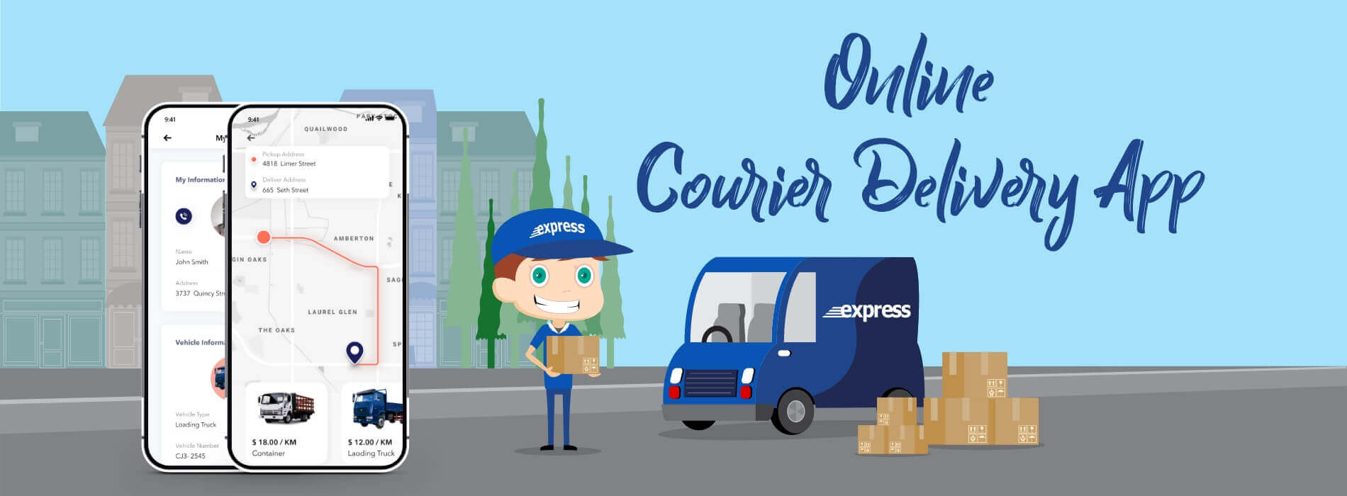 Highly Effective Online Courier Delivery App Features