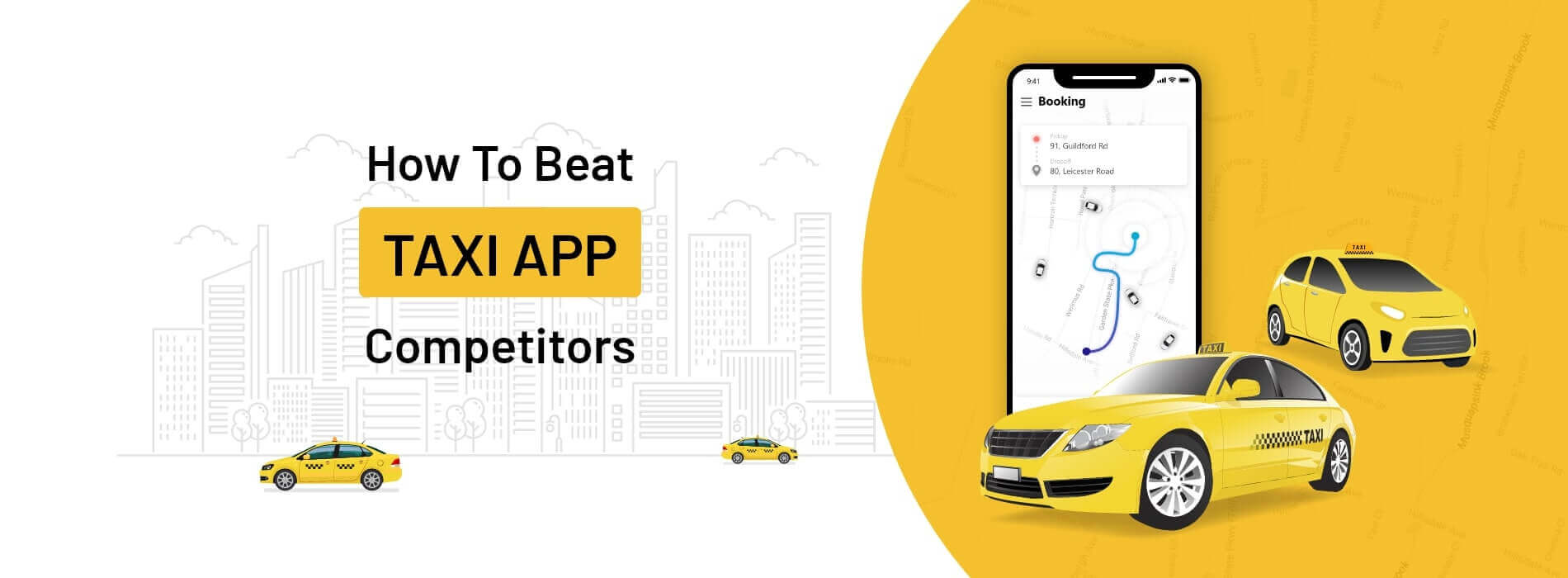 How Taxi Companies Can Stay Competitive and Get Ahead of Other Transit Apps?