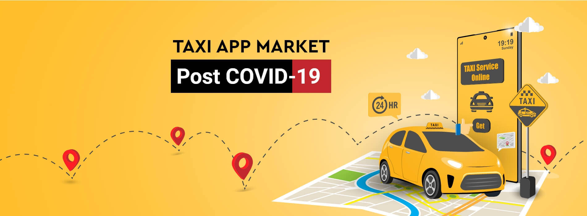 Reimagining the Transportation Industry for the Next Normal : Taxi App Market Post COVID-19