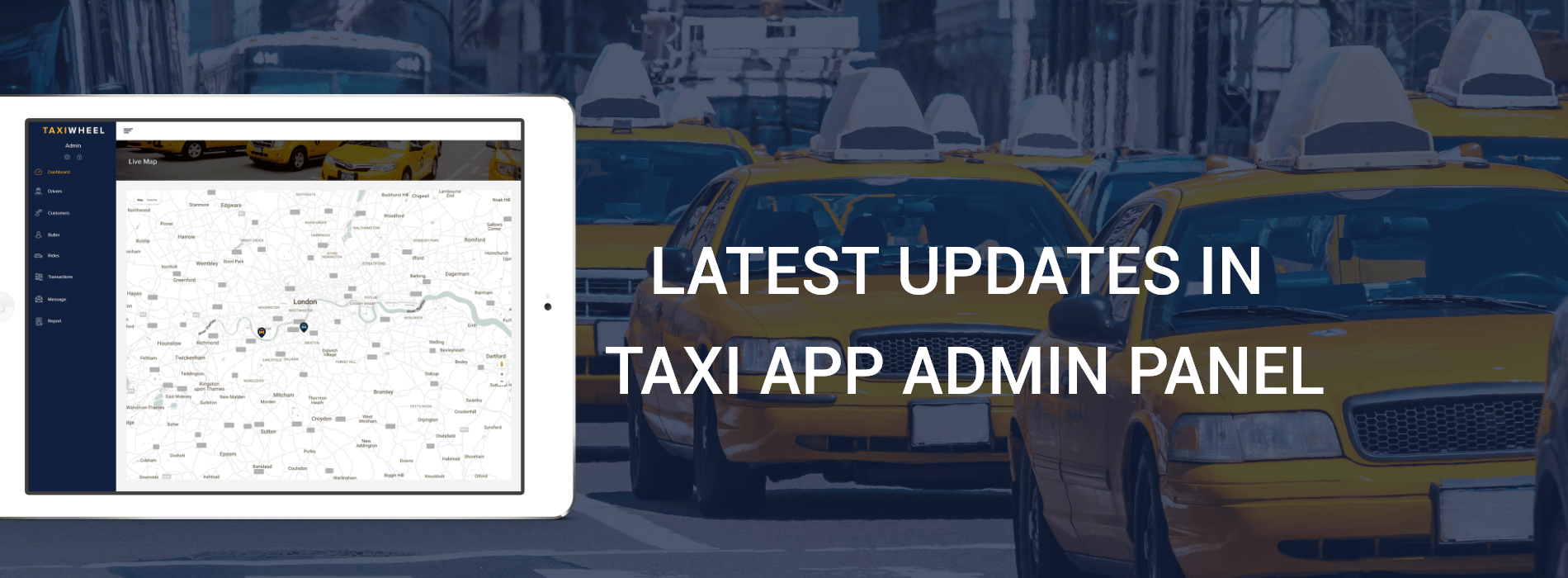 Latest Updates in Taxi App Admin Panel