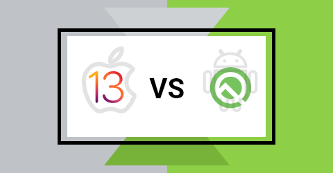 Android q vs. ios 13 new features: overview and comparison