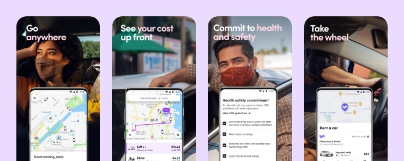 lyft-taxi-app